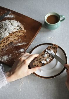 Buckwheat raisin bread/ boekweit rozijnenbrood - Food Bandits