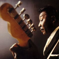 Muddy Waters, famous blues musician who found fame up in Chicago. But those Mississipi roots never left.