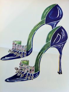 Illustration - Manolo Blahnik