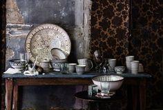 Dark | Interiors | Moroccan | Stoneware