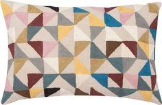niki jones harlequin cushion