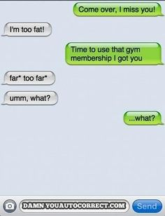 The 11 Best Damn You Auto Correct Texts of 2012