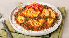 Halibut and Spinach Curry | Best recipes ever