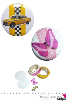 Presse  badges ronds avec matrice interchangeable