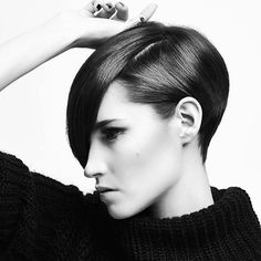 Stunning shape by @devon_does_hair. He's a fantastic stylist and is also our education director.  Photo by @kalejf  #spacesalon #michaellevinesalons #vancouver #yvr #vancouverhair #vancouversalon #hairnerd #hairbrained #hairdressermagic #americansalon #hairschool #hairstylist #sassoon #vidalsassoon #shorthair #sexyhair #graduatedbob Education Director, Graduated Bob, Hair Brained, Hair Colours, Devon, Cute Hairstyles, Hairdresser, Vancouver, Hair Ideas