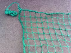 Cargo Net 18' x 12' [Super Heavy Duty] with Fixing Cords by Net World. $79.99 Cargo Net, Thing 1, Toy Rooms, Tear, Garden Structures, Twine, Knots, Crochet, Grade 2