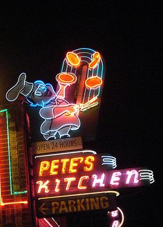 Pete's Kitchen, Denver, Colorado.