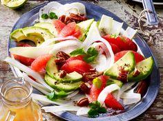Avocado-Grapefruit-Fenchel-Salat Rezept | LECKER