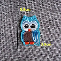 FairyTeller Cartoon Creature Pattern Hot Melt Adhesive Applique Embroidery Patch Diy Clothing Accessory Patch *** Read more at the image link.