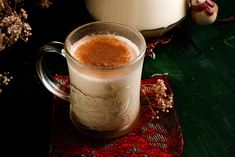 My husband and I wanted to share his Eggnog recipe with you. In fact he specifically asked if I would photograph it and share with you. Isn't he cute? Of course I couldn't refuse him. E…