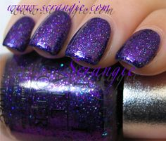 OPI DS Temptation. Purple and sparkly...what more could a girl want!?