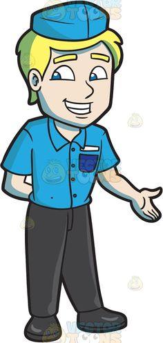 A Friendly Fast Food Cashier Employee | Dark, Polos and Dark teal