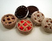 Cherry Pie Tape Measure Cover (cosy, cozy). Retractable Tape. Fun and Functional.. $7.00, via Etsy.