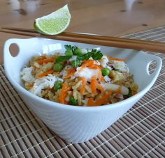 Thai Crab Fried Rice- definetly gonna make this... With chicken instead of crab for the hubby
