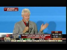 Wow! Bill Clinton NOW SAYS Hillary Has 'The Flu' -- 'Millions of People Get It' (Video) ~ Pneumonia, flu, dehydration, Parkinson's,... WHAT DIFFERENCE AT THIS POINT DOES IT MAKE???