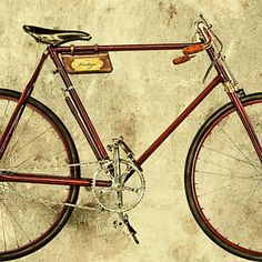 Vintage Bicycle Photograph - The Vintage Racing Bike by Martin Bergsma