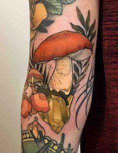 28 Enchanting Mushroom Tattoos – Tattoo Insider