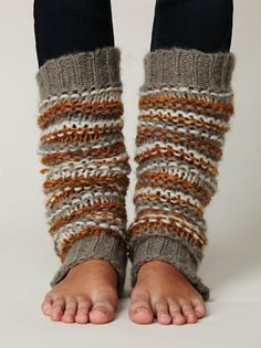 fall colors leg warmers