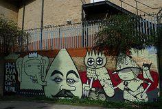 Street Art by Kid Acne    #socialsheffield #sheffield #design #streetart #graffiti #urbanex #art #kidacne