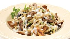 Whip up an italian-style pasta dish with this easy mushroom and mascarpone pasta recipe from Stefano Faita. Quick Recipes, Pasta Recipes, Healthy Recipes, Creamy Pasta, Fresh Pasta, Mascarpone Pasta Recipe, Stuffed Hot Peppers, Stuffed Mushrooms, Pasta Carbonara