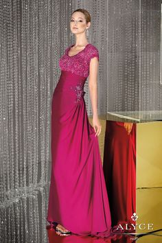 Bella Mera Bridal Boutique - Alyce Paris JDL - Jean De Lys 29439 - Satin Chiffon,  (http://www.bellamerabridal.com/alyce-paris-jdl-jean-de-lys-29439-satin-chiffon/)