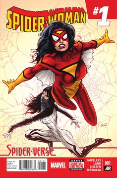 Spider Woman 1 with Fray