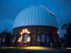 The McCormick Observatory is located on the University of Virginia Campus. Virginia Beach, West Virginia, Weekend Trips, Day Trips, Places To Travel, Places To See, Virginia Attractions, Virginia Is For Lovers, University Of Virginia