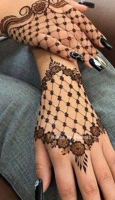 Finger Henna Designs, Beginner Henna Designs, Back Hand Mehndi Designs, Mehndi Designs Book, Modern Mehndi Designs, Mehndi Designs For Girls, Mehndi Designs For Fingers, Mehndi Design Images, Mehndi Designs For Hands