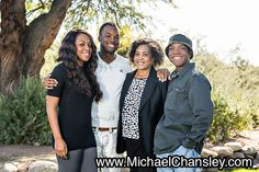 Fun family portrait photo ideas at The Westin La Paloma Resort & Spa in Tucson AZ Arizona taken by Michael Chansley Photography Kids teenagers parents couples teens baby brother sister siblings mom dad father mother grass desert mountains sunset Catalina Basin
