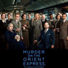 Waini! Setelah Avengers dan Justice League, sekarang ada Murder On The Orient Express, Cast-nya ga nahan euy... tidak sabar oh tidak sabar!