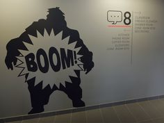 VALVE - COMPLETED WALL GRAPHICS
