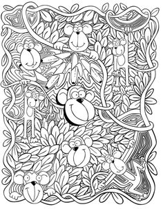 Addams Family Coloring Pages For Adults Family Coloring Pages, Adult Coloring Book Pages, Animal Coloring Pages, Printable Coloring Pages, Colouring Pages, Free Coloring, Coloring Pages For Kids, Coloring Sheets, Coloring Books