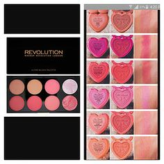Makeup Revolution Hot Pink Chocolate Palette