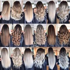Golden Blonde Balayage for Straight Hair - Honey Blonde Hair Inspiration - The Trending Hairstyle Hair Color Balayage, Hair Highlights, Blonde Hair Colors, Ombre Hair Color, Balayage Long Hair, Straight Hair With Highlights, Blonde Hair Shades, Brown Hair With Blonde Highlights, Ombre Bob