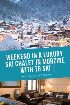 Weekend in a Luxury Ski Chalet in Morzine with TG Ski – Mini Travellers – Family Travel & Family Holiday Tips Amazing Destinations, Holiday Destinations, Vacation Destinations, Ski Ski, Ski Chalet, Travel With Kids, Family Travel, Ski Holidays, Weekend Breaks
