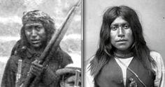 Britton Davis' Scouts at El Paso, Texas - July, 1885 No'stle, aka Knox Nostlin