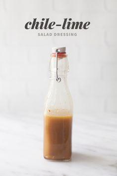 Chile-Lime Salad Dressing