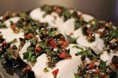 MOZZARELLA com CRAZY GREMOLATA   Cooking with Love