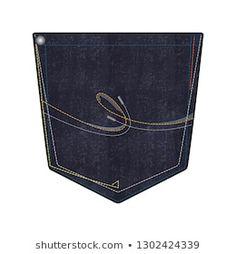 Dark wash denim pocket design/layout with embroidery stitching metal rivet and bar tack design Denim Jeans Men, Jeans Pants, Boys Pants, Camisa Polo, Mens Back, Pocket Detail, Couture, Vintage, Shopping