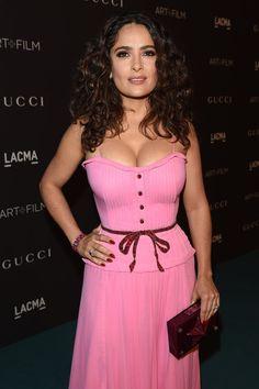 Pin for Later: LACMA Just Hosted the Ultimate A-List Party — and All Your Favorite Stars Were There Salma Hayek