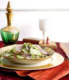 Cucumber and caper salad :: Gourmet Traveller