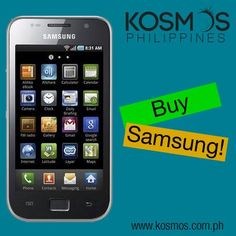 The Samsung Galaxy S LCD I9003 is a full touch Android smartphone featuring a 4.0 inch super clear LCD display.    http://www.kosmos.com.ph/product/20350016/samsungs-i9003-smartphone-silver    SHOP NOW at www.kosmos.com.ph