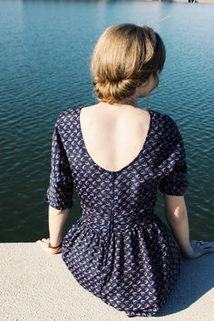 low back dresses - doesn't have to be a special occasion to dress up // vintage inspired summer