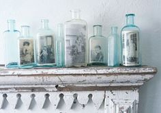 picture in a bottle