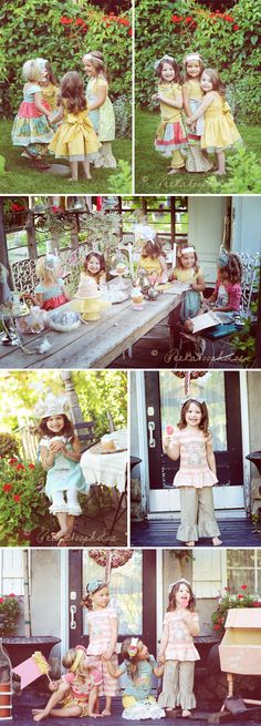 Styled photoshoot. This is so adorable! Not sure abt the pants lol. I could see Olivia, Ryleigh @Kara Morehouse Bushman , our little ladybug and possibly another little girl hanging out while I take the pictures! ;-)