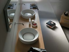 Single ceramic washbasin ORBIS - GALASSIA
