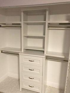 Small Walkin Closet Organization Space Saving