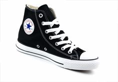 Converse Unisex Chuck Taylor Classic Colors HIGH Black\White Casual M9160 #converse #M9160