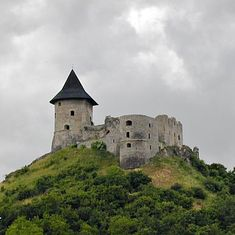 Somosko Hungary, image by Uzo licensed under GNU Free Documentation license Fortification, Medieval Castle, Middle Ages, Homeland, Hungary, Castles, Europe, History, Image Search
