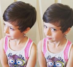 30 terrific simply cute haircuts for girls to put you on center stage - Lovely Pixie Haircuts for Kids, Pixie Haircut for Kids for Particular Pixie Haircuts for Kids Little Girls Pixie Cut, Pixie Cut For Kids, Little Girls Pixie Haircuts, Little Girl Short Hairstyles, Latest Short Hairstyles, Baby Girl Hairstyles, Trendy Hairstyles, Natural Hairstyles, Glamorous Hairstyles